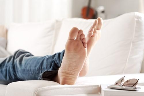 טיפול בכאבים בכף הרגל