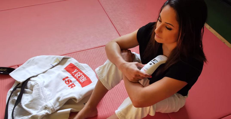 טיפול בפציעת ספורט בעזרת בי-קיור לייזר ספורט